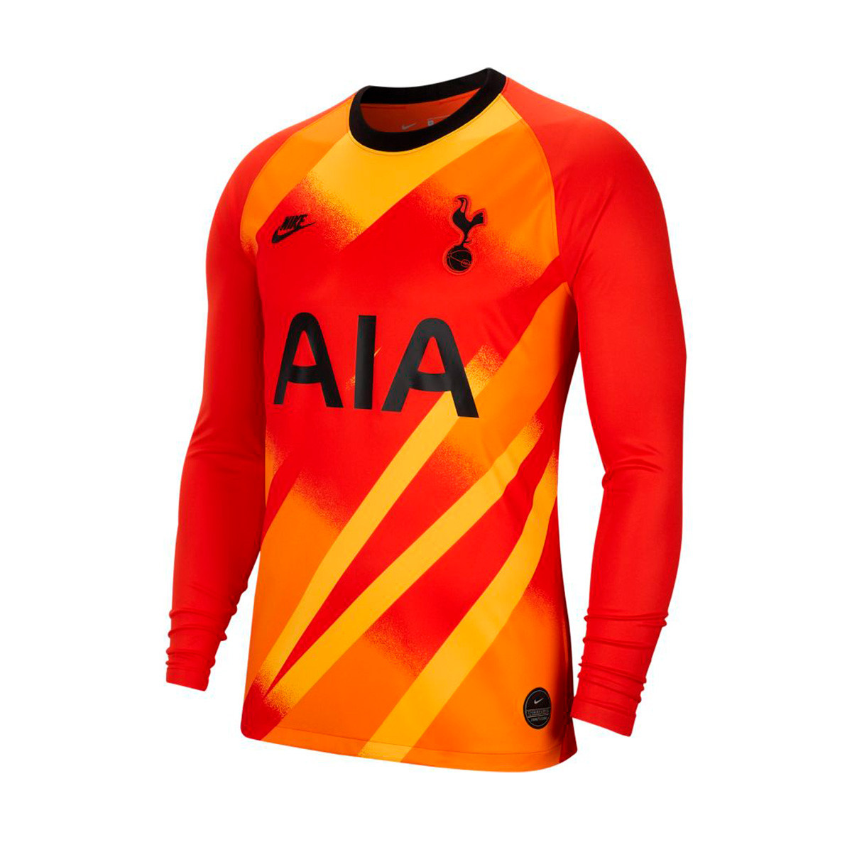 Jersey Nike Tottenham Hotspur Breathe Stadium Goalkeeper 2019 2020 Team Orange Black Football Store Futbol Emotion
