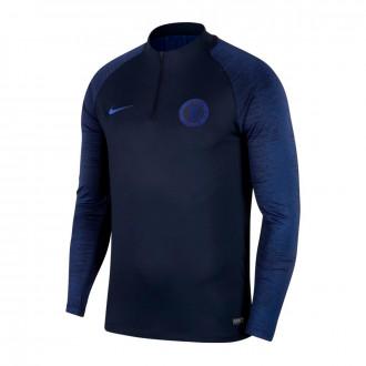 Sudadera Nike Chelsea FC Dry Strike Dril 2019-2020 Obsidian-Rush blue
