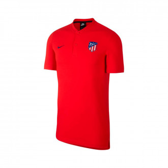 Polo Nike Atletico de Madrid NSW Modern GPS 2019-2020 Challenge red/Deep royal blue