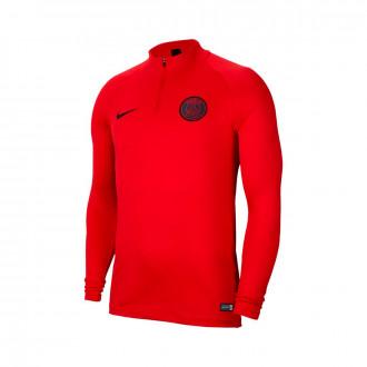 Camiseta Nike Paris Saint-Germain Dry Strike Dril 2019-2020 University red-Oil grey