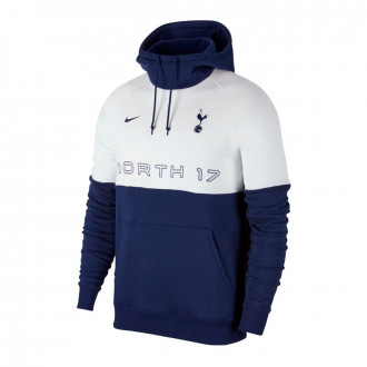 Felpa Nike Tottenham Hotspur GFA Hoodie 2019-2020 Binary blue-White-Binary blue