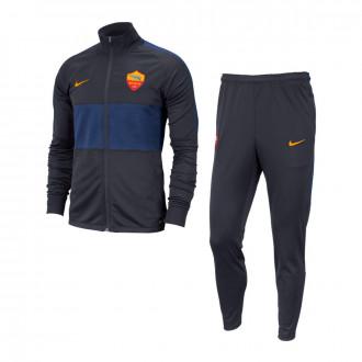 Fato de treino Nike SL Roma Dry Strike 2019-2020 Dark Obsidian-University gold