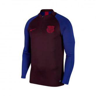 Camiseta Nike FC Barcelona Dry Strike Dril 2019-2020 Burgundy ash-Noble red