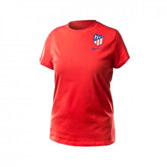 Camiseta Nike Atletico de Madrid Evergreen 2019-2020 Mujer Challenge red