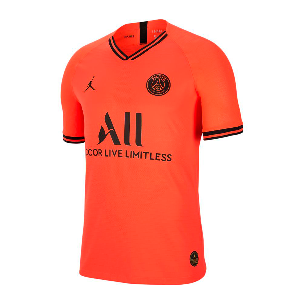 Jersey Nike Paris Saint Germain Vapor Match 2019 2020 Away Infrared Black Football Store Futbol Emotion