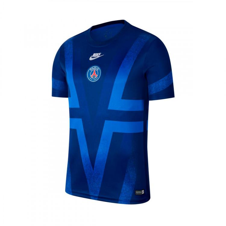 Jersey Nike Paris Saint Germain Dry 2019 2020 Blue Void Hyper Royal White Football Store Futbol Emotion