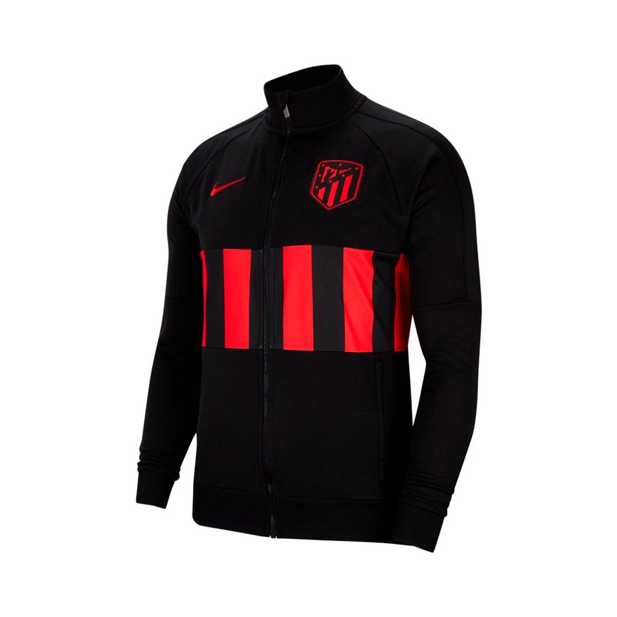 Black Nike 2019-2020 Atletico Madrid I96 Jacket Kids