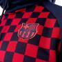 Sudadera FC Barcelona GFA Hoodie 20109-2020 Obsidian-Noble red
