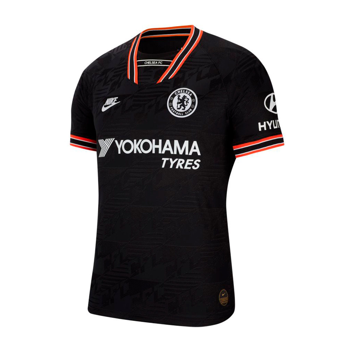 perder dignidad matrimonio  Jersey Nike Chelsea FC Vapor Match Tercera Equipación 2019-2020 Black-White  - Football store Fútbol Emotion