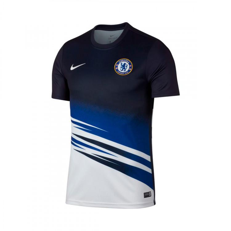 brand new ed34a 6bade Camiseta Chelsea FC Dry 2019-2020 White-Obsidian