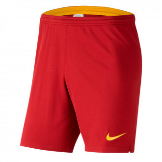 Pantaloncini Nike SL Roma Breathe Stadium Primo/Secondo completo 2019-2020 Team crimson-University gold