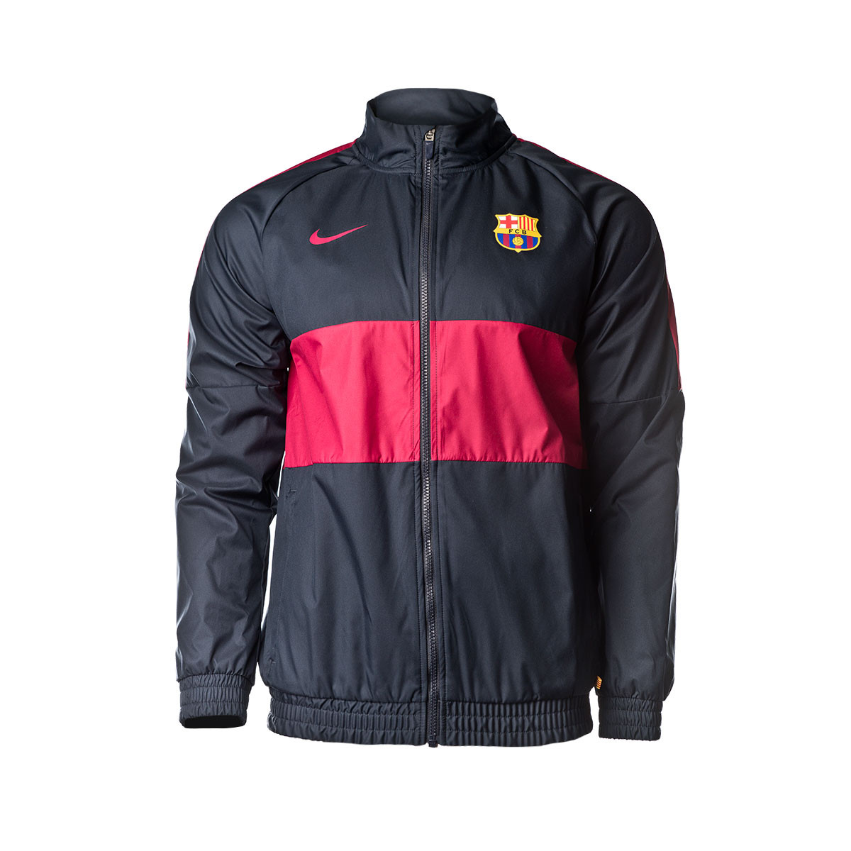 best loved 828c6 dd497 Chaqueta FC Barcelona Training 2019-2020 Mujer Dark Obsidian-Noble red