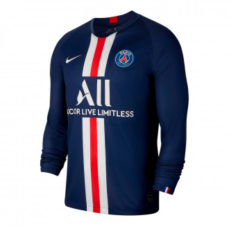 Camiseta Nike Paris Saint-Germain Breathe Stadium Primera Equipación 2019-2020 Midnight navy-White