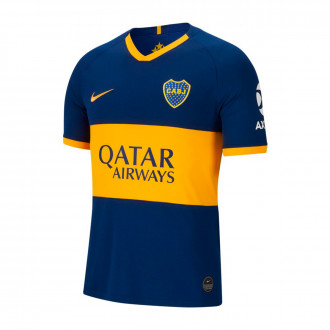 Camisola Nike Boca Juniors Breathe Stadium Equipamento Principal 2019-2020 Blue void-University gold
