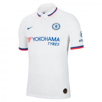 Playera Nike Chelsea FC Vapor Match Segunda Equipación 2019-2020 White-Rush blue