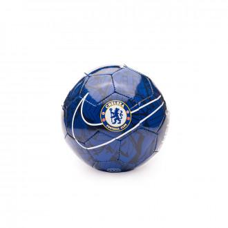 Bola de Futebol Nike Mini Chelsea FC 2019-2020 Rush blue-Pimento-White
