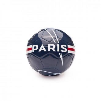 Balón Nike Mini Paris Saint-Germain Jordan 2019-2020 Midnight navy-University red-White