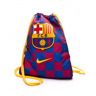 Sac de sport Nike Gym Sack FC Barcelona Stadium Football 2019-2020 Deep royal blue-Noble red-Varsity maize