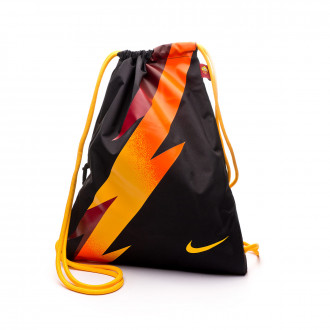 Borsa Nike Gym Sack SL Roma Stadium 2019-2020 Black-University gold