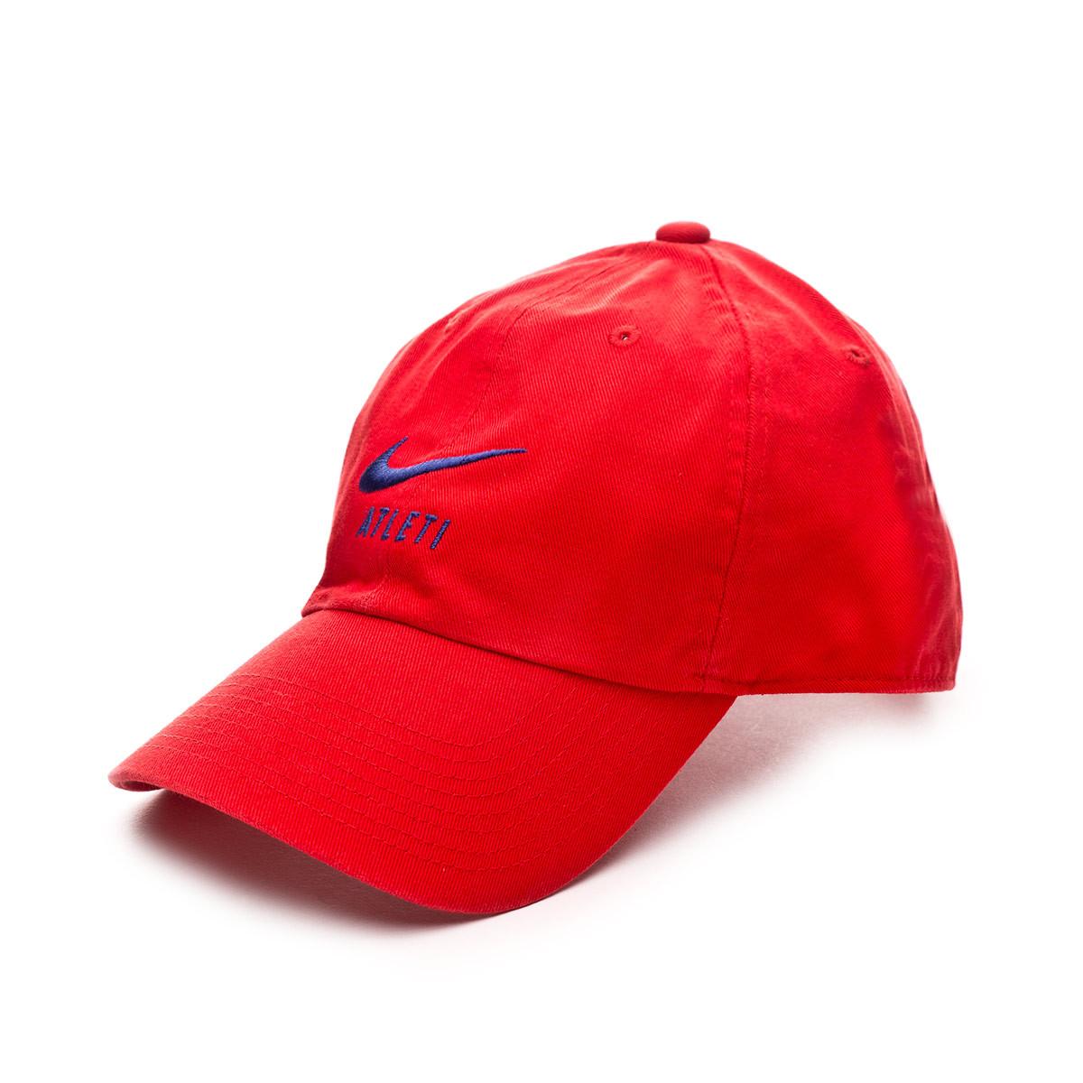 Cap Nike Atletico De Madrid Heritage86 2019 2020 Sport Red Deep Royal Blue Football Store Fútbol Emotion
