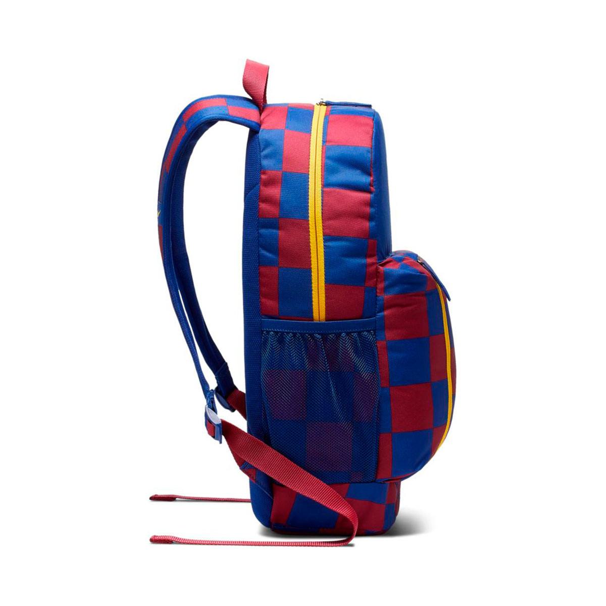 c231882f03e3 Mochila FC Barcelona Stadium 2019-2020 Deep royal blue-Noble red-Varsity  maize