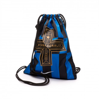 Borsa Nike Gym Sack Inter Milan Stadium 2019-2020 Blue spark-Black
