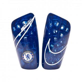 Espinillera Nike Chelsea FC Mercurial Lite 2019-2020 Rush blue-White