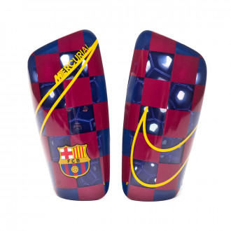 Shinpads Nike FC Barcelona Mercurial Lite 2019-2020 Deep royal blue-University gold