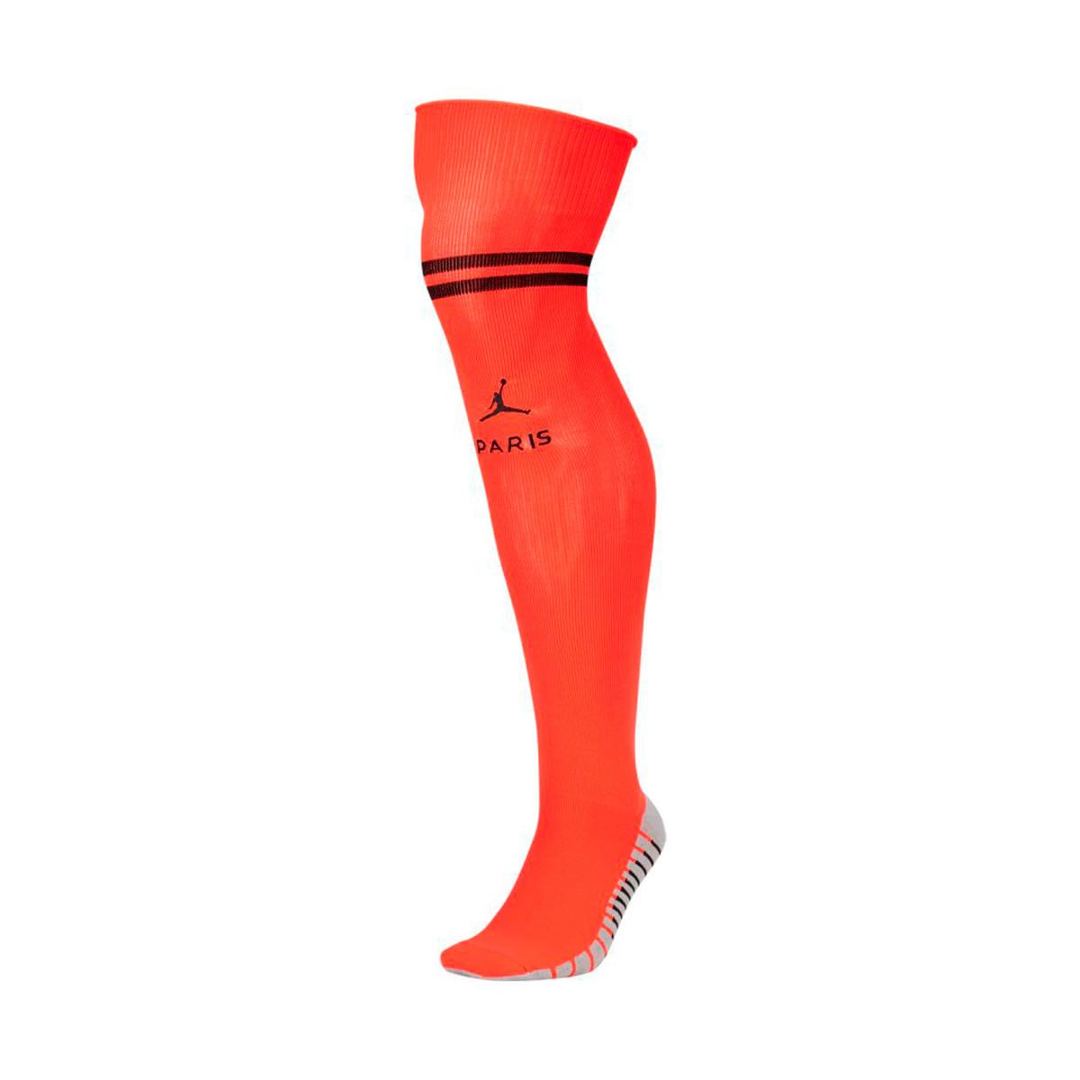 Football Socks Nike Paris Saint Germain Stadium Otc Segunda Equipacion 2019 2020 Infrared Black Football Store Futbol Emotion