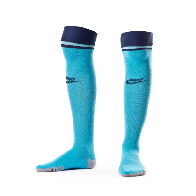 Football Socks Nike Tottenham Hotspur Stadium Otc Tercera Equipacion 2019 2020 Blue Fury Blue Gaze Binary Blue Football Store Futbol Emotion
