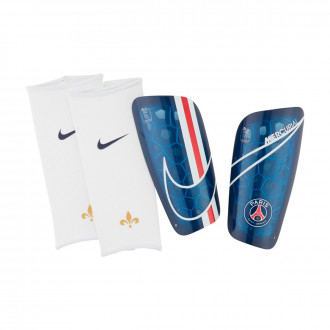 Shinpads Nike Paris Saint-Germain Mercurial Lite 2019-2020 Midnight navy-University red-White