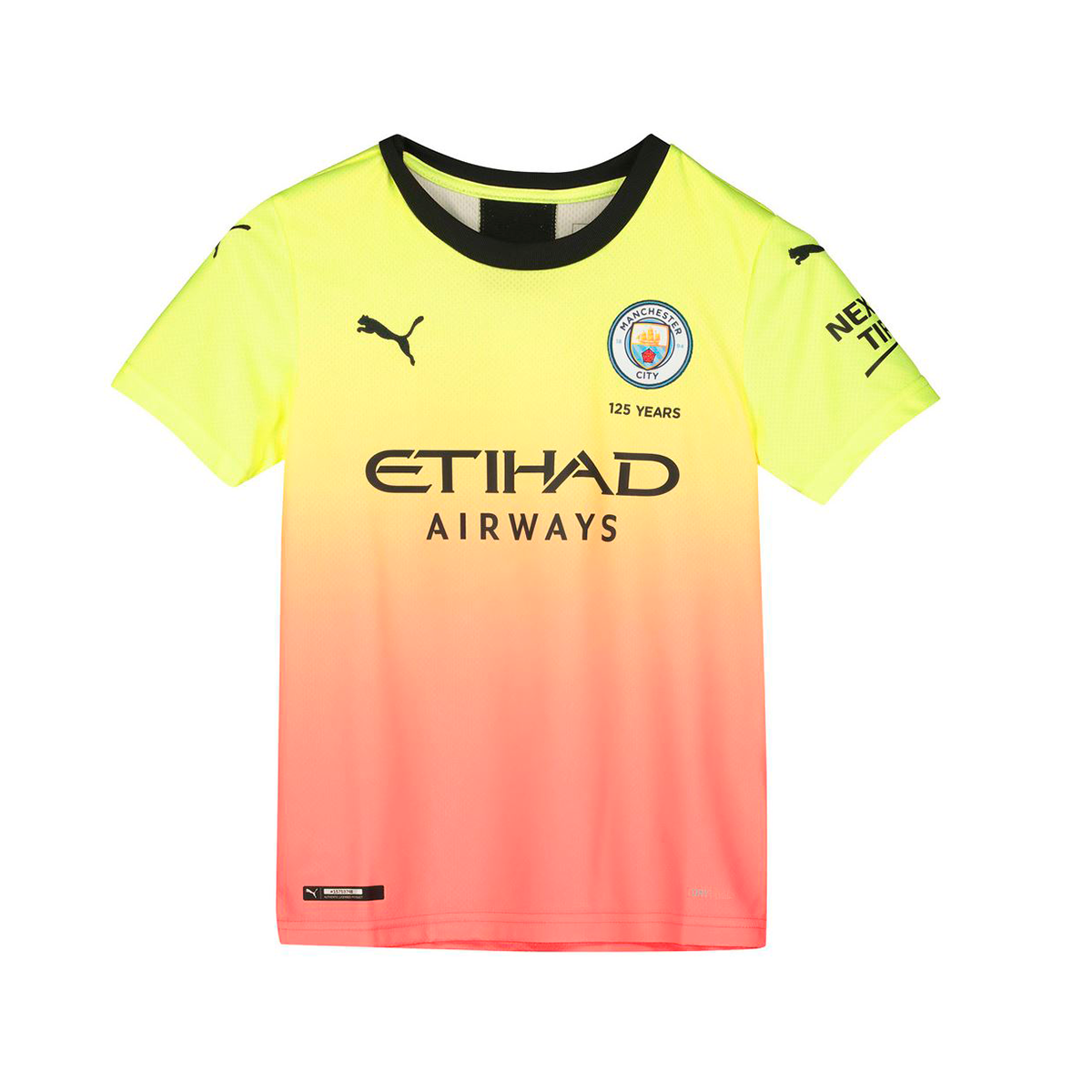 Jersey Puma Kids Manchester City Fc 2019 2020 Third Fizzy Yellow Georgia Peach Football Store Futbol Emotion