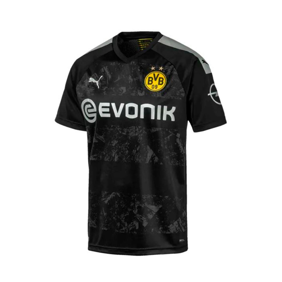 Puma BVB Borussia Dortmund Segunda Equipación 2019-2020 Niño Jersey