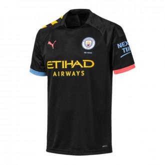 Camiseta Puma Manchester City FC Segunda Equipación 2019-2020 Puma black-Georgia peach