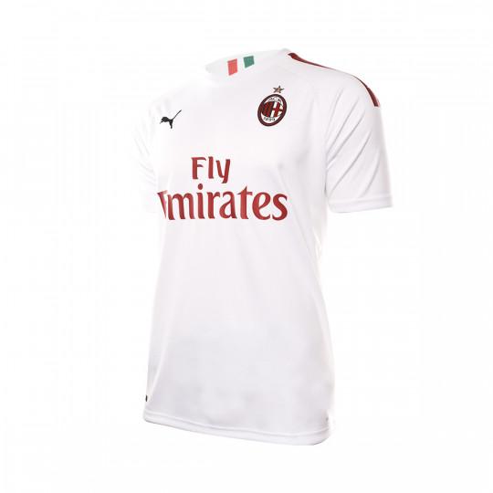 Maglia Puma AC Milan Seconda maglia 2019-2020 Puma white-Tango red