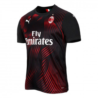 Maillot Puma AC Milan Third 2019-2020 Puma black-Tango red