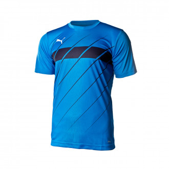 Maglia Puma ftblPLAY Graphic bambino Electric blue lemonade-Puma new navy