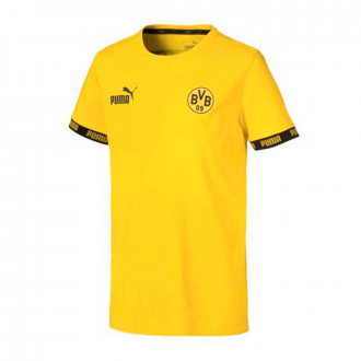 Maillot  Puma BVB FtblCulture 2019-2020 Cyber yellow