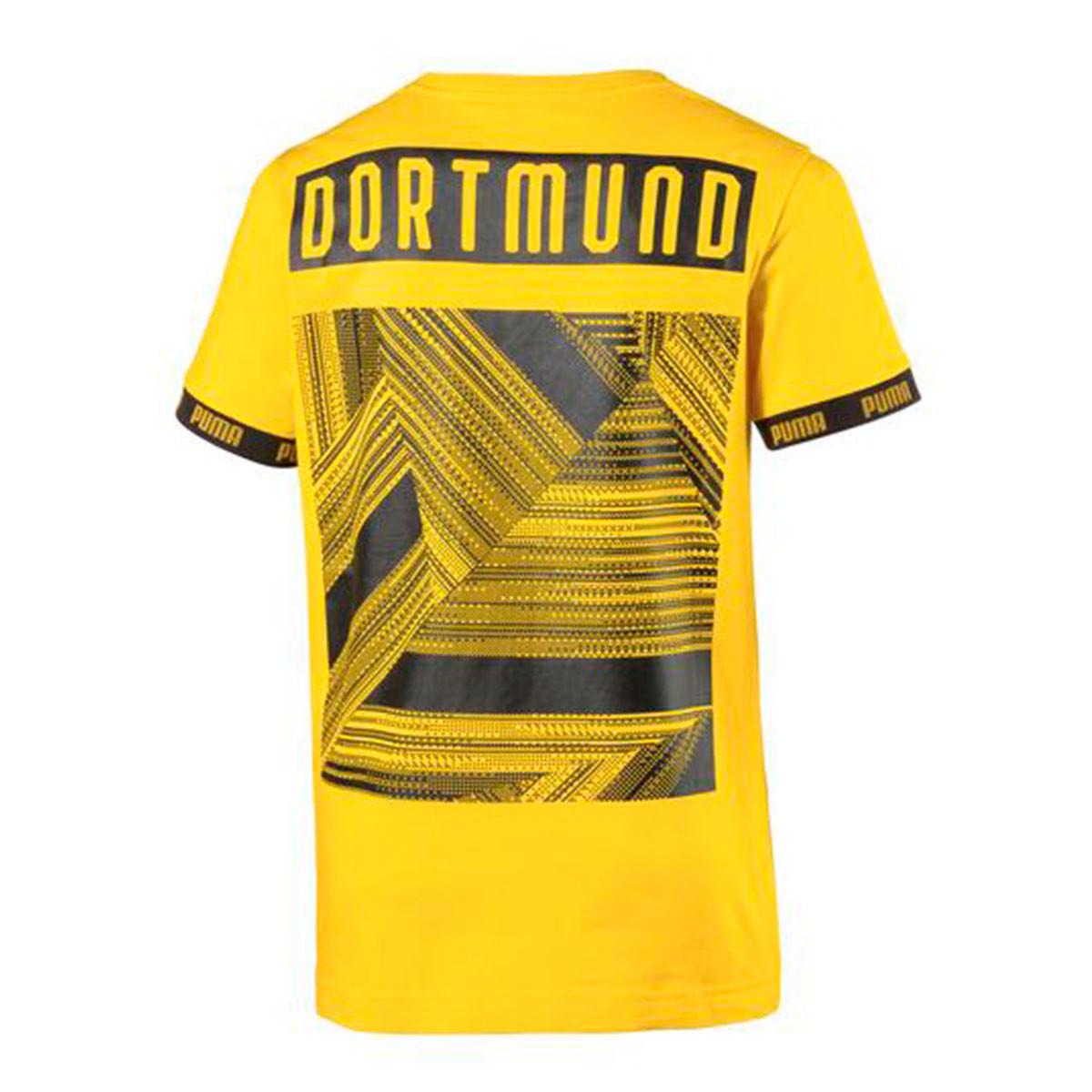 newest 7872e 6d4c3 Camiseta BVB FtblCulture 2019-2020 Cyber yellow