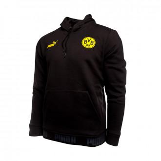 Sweatshirt  Puma BVB FtblCulture 2019-2020 Puma black