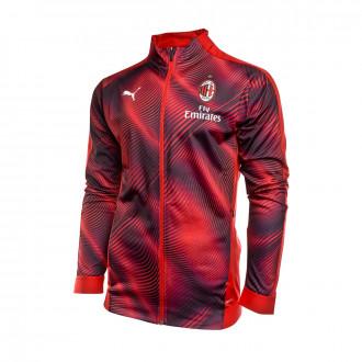 Jacket  Puma AC Milan Stadium 2019-2020 Tango red -Puma black