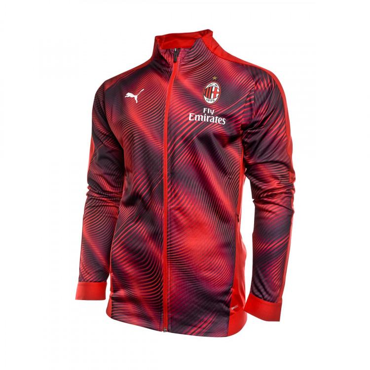 Puma Tango Milan 2020 Red Black 2019 Chaqueta Ac Stadium fvyb76YgI