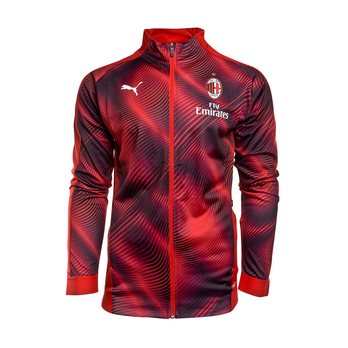 huge selection of 923e0 ee674 Chaqueta AC Milan Stadium 2019-2020 Tango red-Puma black