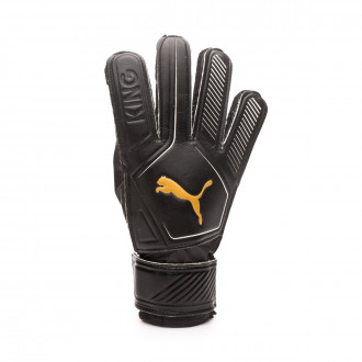 Guante Puma King 4 Puma black-Gold-Puma white