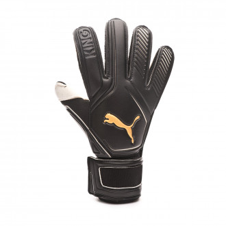 Glove  Puma King RC Puma black-Gold-Puma white