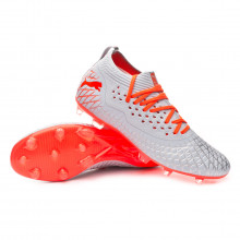 Chaussure de foot Future 4.2 NETFIT FG/AG Glacial blue-Nrgy red-High risk red
