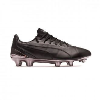 Chaussure de foot  Puma King Platinum FG/AG Blackout