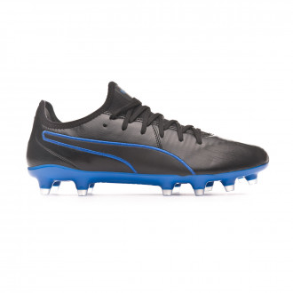 Bota Puma King Pro FG Black-Blue