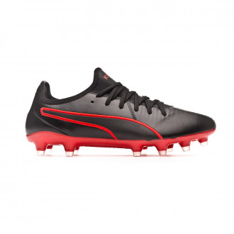 Football Boots  Puma King Pro FG Black-Red