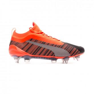 Zapatos de fútbol Puma One 5.1 MxSG Puma black-Nrgy red-Puma aged silver